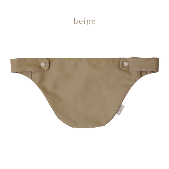 クレンゼ生地 抱っこ紐用胸カバー ベージュ